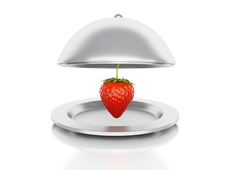 Strawberry 3d