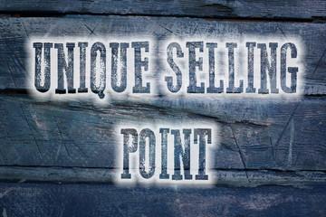 Unique Selling Point Concept