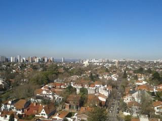 Vista aérea de ciudad de Tigre