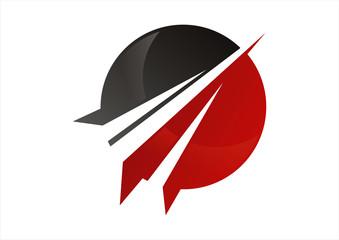 circle business marketing logo and finance economy logo