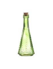 indian bottle on white background