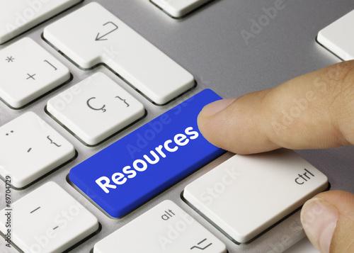 Leinwanddruck Bild Resources. Keyboard
