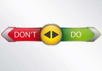 Do or do not - Infografik