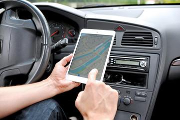 Navigation mit dem Ipad