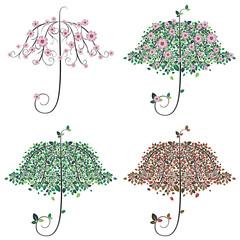 Umbrella Shape Tree