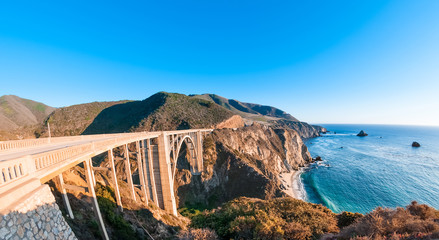Bixby Bridge on Pacific Coast Highway, California