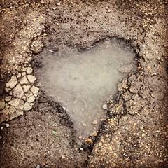 Love beneath our feet