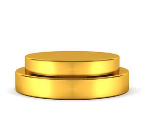 Golden pedestal - winner
