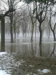 Inundación en invierno