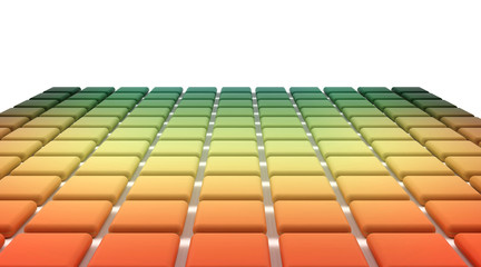 Abstract background spectrum chart