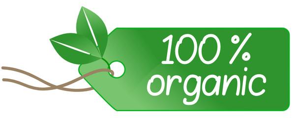 100 % organic