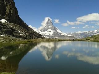 Matterhorn Alpes Suizos