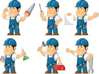 Strong Technician Mascot 2