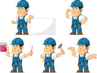 Strong Technician Mascot 5