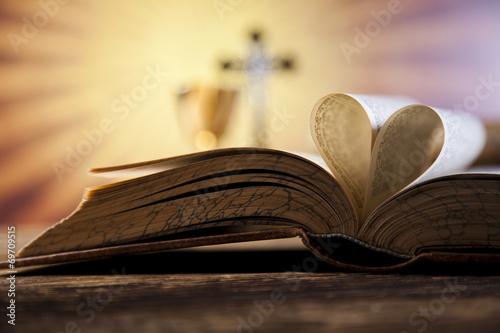 Zdjęcia na płótnie, fototapety, obrazy : Christian holy communion