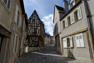 Rue de la basse ville de Chartres (28)