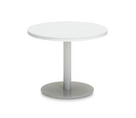 White coffee table on white