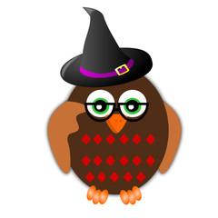 Gufo di Halloween