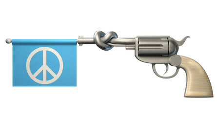 Pistol Peace Flag