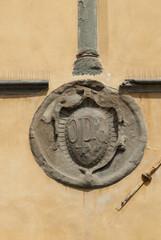 Fregio decorazione, stemma primarziale