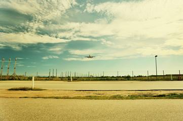 near airport, Kasturp, Denmark.