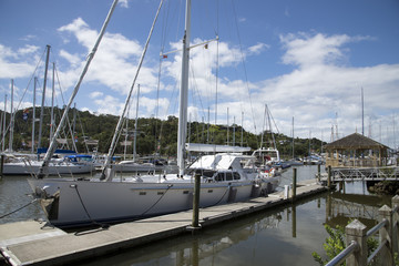 Whangarei Marina Hatea River North Island New Zealand