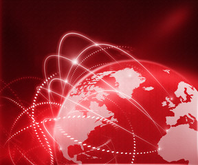 Global business network..