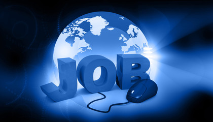 Job search concept ..