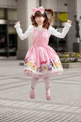 Happy japanese lolita