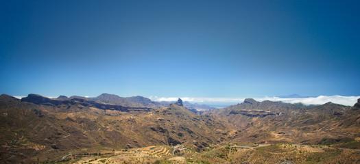 Gran Canaria, Caldera of Tejeda
