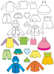 Set of clothing