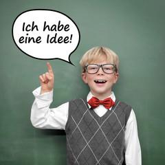 """Kind mit """"Ich habe eine Idee"""""""