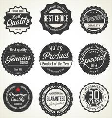 Premium Quality retro Labels