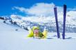 Winter happy vacation