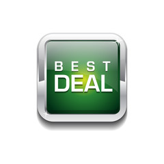 Best Deal Glossy Shiny Rounded Rectangular Vector Button