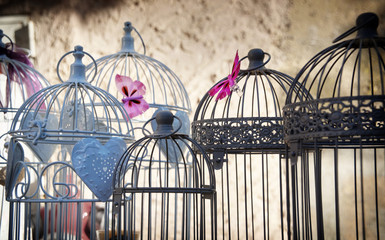 nostalgic birds cages