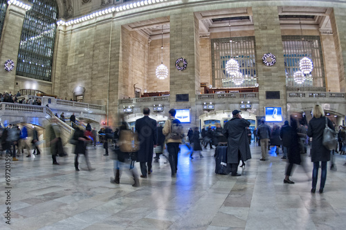 Foto op Plexiglas Treinstation New York Grand Central