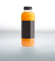 juice in bottle