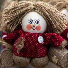 тряпичная кукла Кузя