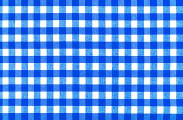 Blau/Weiße Tischdecke