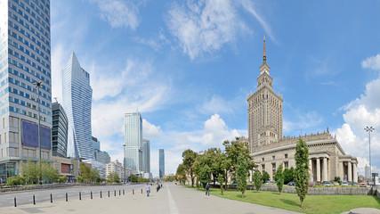 Warszawa -Stitched Panorama