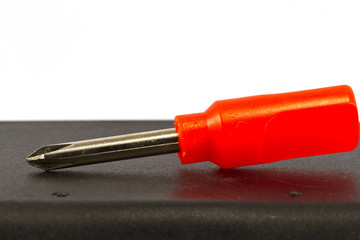 small side of screwdriver