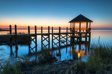North Carolina Outer Banks Coastal Gazebo