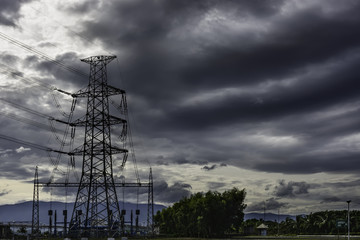 Power Plant Transmission Lines