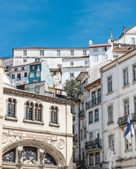 Lisbon in white and blue