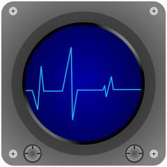 EKG Mit Puls Oszilloskop