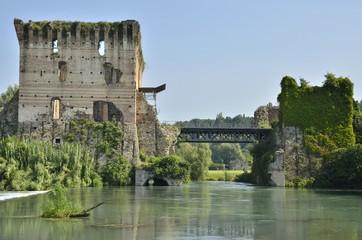 Fortress in Borguetto, Italy