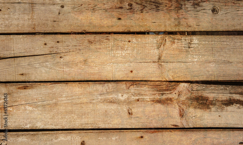 canvas print picture Vintage planks