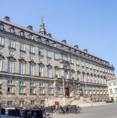 Christiansborg Slot København Danmark (Schloss Christiansborg)