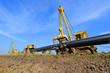 Постер, плакат: In the pipeline repairs
